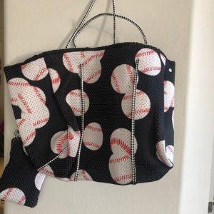 Baseball shoulder bag